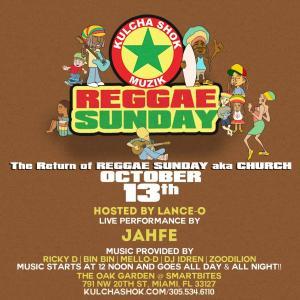 Reggae Sunday 1
